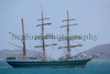 Alexander von Humboldt II sailing ship in the Little Russel