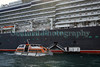 Queen Elizabeth cruise ship arrival tender 110911 ©RLLord 0526 smg