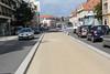bus lane main road to Metz France 070814 ©RLLord 6552 jp smg