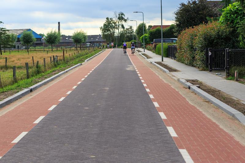 Bloemenstraat towards Plasmolen, The Netherlands