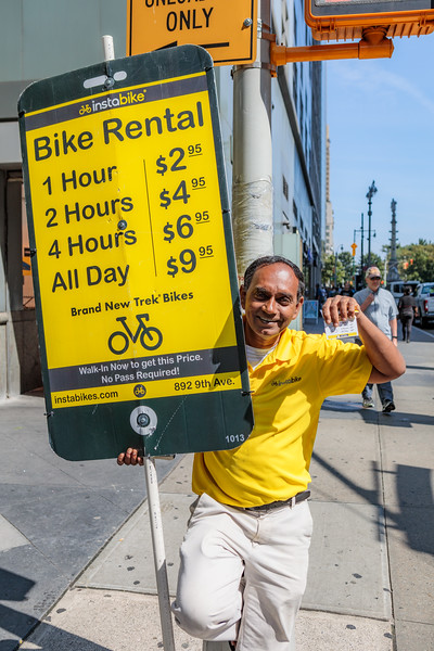 Instabike Bike Rental in New York City
