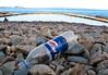 Residential or visitor litter left by La Valette bathing pools on 2 June 2007