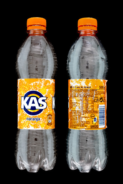 Kas naranja plastic bottle 27