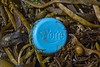 Vichy St Yorre water bottle top washed up at Petit Port on Guernsey's south coast on the 24th May 2021
