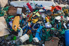 Litter collected from the sea shore at Petit Port, Guernsey on 2 February 2014