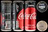 Coca Cola Zero can Israel 4919