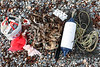 Litter collected from the Belle Greve Bay sea shore at the Halfway on 24 November 2018