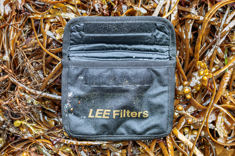 Lee Filters case washed up at Petit Port on Guernsey's south coast on 10th October 2019