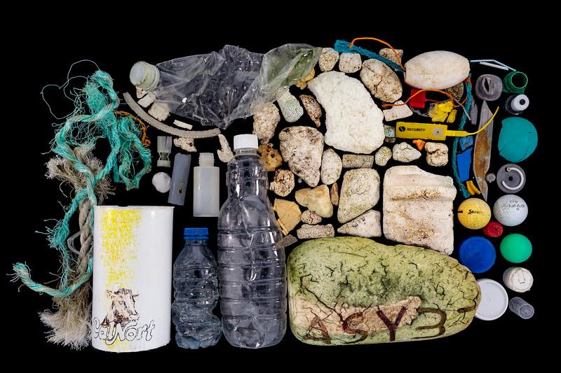 Pleinmont beach litter collected on 6th November 2020