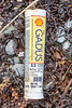 Shell Gadus tube of grease washed up at Pleinmont on Guernsey's south west coast on 9th October 2020