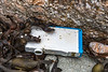 HP printer cartridge washed up at Petit Port on Guernsey's south coast on 6th February 2016