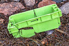 A Scapmarée branded Tepsa fish box washed up at Petit Port on Guernsey's south coast on 3rd November 2020