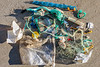 Litter collected from the Petit Port sea shore on 26 September 2018