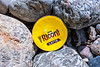 Nestlé Ricoré Latte coffee capsule washed up at Petit Port on Guernsey's south coast on 30th April 2020