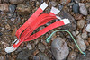 Erispoë tickets belong to a French fishing boat washed up at Petit Port on Guernsey's south coast on the 28th January 2021