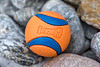 Chuckit ball washed up at Petit Port on Guernsey's south coast on the 21st September 2021