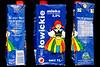 Towickie mleko UHT carton Poland Pleinmont beach litter 4769