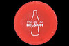 Made in Belgium plastic bottle top found on the beach near Fort Le Marchant on the 24th September 2021