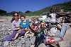 beach litter Vanessa & Joseph Adams Champ Rouget 080607 34-914 smg