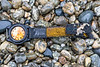 Xpose Sekonda wrist watch and strap on the shore of Saints' Bay on Guernsey's south coast on 14th February 2021