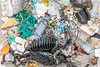 Sea shore litter from Petit Port on Guernsey's south coast collected on 30th April, and 8th and 9th May 2020