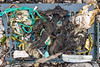 Beach litter collected from Petit Port on Guernsey's south coast on the 20th May 2021