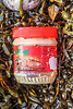 Plastic jar of peanut butter washed up at Petit Port on Guernsey's south coast on 25th October 2019