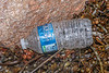 Cristaline plastic water bottle of French origin washed up at Petit Port on Guernsey's south coast on 30th October 2020