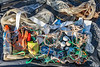 Beach litter collected from Portinfer on Guernsey's north-west coast on 26th September 2020