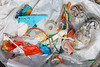 Small pieces of litter collected from Champ Rouget, Chouet on Guernsey's north coast on 26 May 2018