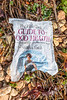 The Hale Clinic Guide to Good Health wrapper on the seaweed strand line of Fermain Bay on Guernsey's east coast on 18th September 2020