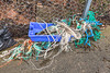 Commercial fishing litter washed up at Petit Port on Guernsey's south coast on 16th February 2014