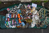 Litter collected from the sea shore of Belle Greve Bay on 12 May 2013