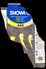 Plastic wrapper for Showa PVC gloves collected from Petit Port on Guernsey's south coast