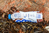 Plastic bottle of Yazoo chocolate milk collected from Petit Port on Guernsey's south coast on the 29th October 2020