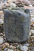 20 litre capacity plastic jerry can with HM stamp washed up at Petit Port on Guernsey's south coast in January 2021