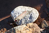 Piece of polystyrene fishing float washed up at Pleinmont on Guernsey's south-west coast on 29th August 2020