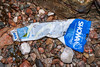Showa plastic glove wrapper washed up at Petit Port on Guernsey's south coast on 4th March 2020