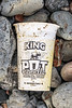 King Pot Noodle container washed up at Pleinmont on Guernsey's south west coast on 9th October 2020