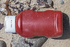 Heinz 57 Ketchup bottle washed up at Pecqueries on Guernsey's north-west coast on the 22nd May 2021