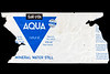 Sun D'Ore Aqua Natural water bottle label collected from Baie des Pecqueries beach on the 14th December 2019