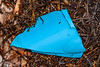Blue plastic piece washed up at Petit Port on Guernsey's south coast on 26th November 2020