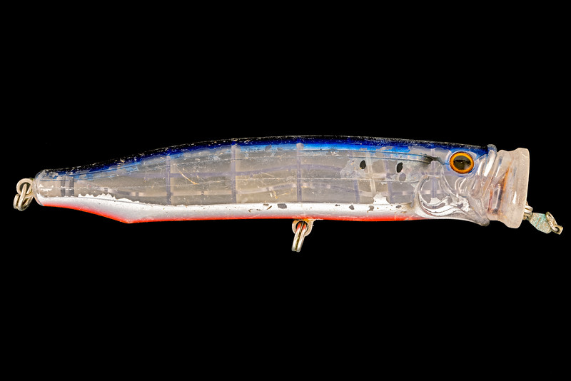Fishing lure collected from Petit Port on Guernsey's south coast