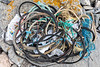 Mainly fishing industry litter collected from Champ Rouget, Chouet on Guernsey's north coast on 26 May 2018