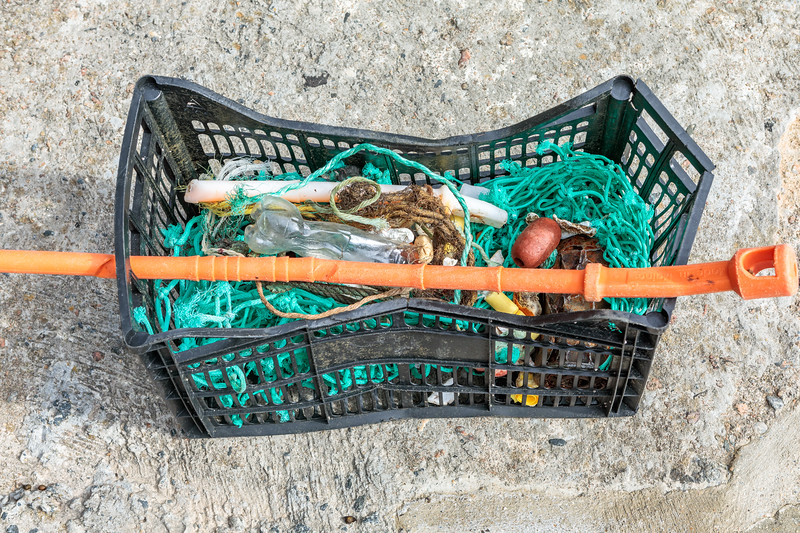 Petit Port beach litter collected on 3rd October 2019