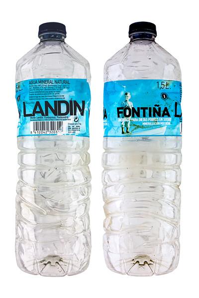 Landin Fontina bottled water Spain