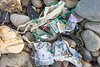 Sea shore litter collection from the east side of L'Ancresse bay on Guernsey's north coast on the 22nd September 2021