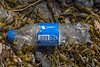 Russian Pepsi plastic bottle washed up at Petit Port on Guernsey's south coast on the 24th May 2021