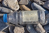 Message in a plastic bottle found on a west facing cobble beach south of Fort Le Marchant on 24th September 2021