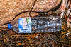 1.5 litre plastic water bottle of French origin washed up at Petit Port on Guernsey's south coast on 26th October 2019